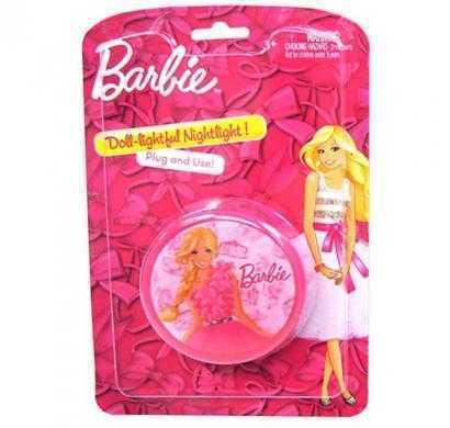 barbie round wall nightlight