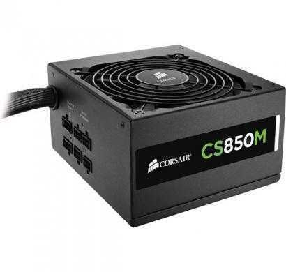 corsair cs series, cs850m, 850 watt (850w), semi modular power supply, 80+ gold certified