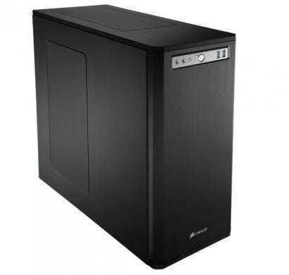 corsair obsidian series 550d black aluminum / steel atx cpu cabinet