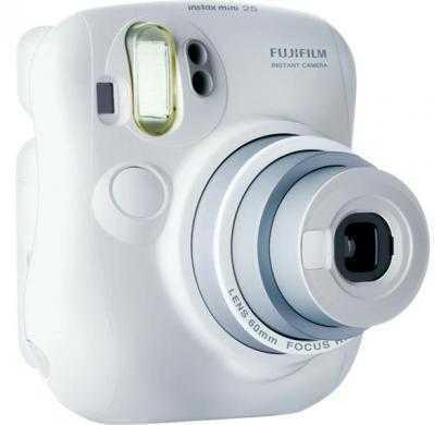 fujifilm instax mini 25 instant film camera (white)