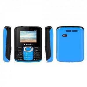 ikall k99 dual sim mobile (black & blue)