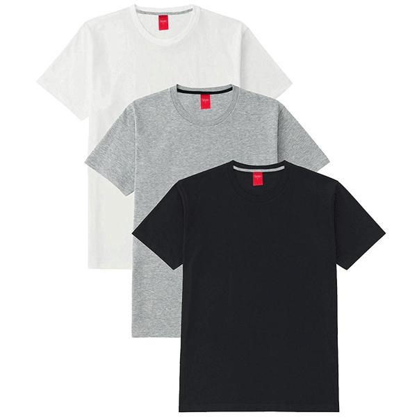 SCT 100ANB Round neck (160 - 180 GSM) T-Shirt Cotton Grey