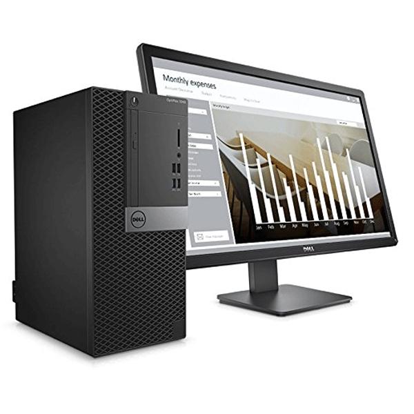 Dell Optiplex - 3050 Desktop, Intel Core i5 - 7500/ 4GB RAM/ 1 TB HDD/ DOS/ DVD/ 19.5 Inch/ 3 years Warranty