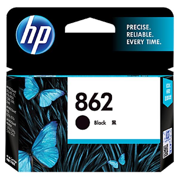 HP 862 Black Ink Cartridge - CB316ZZ, 1 Year Warranty