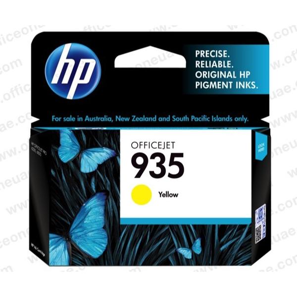 HP 935 Yellow Ink Cartridge C2P22AA