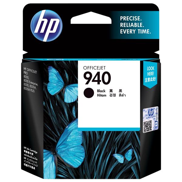 HP 940 Black Ink Cartridge C4902AA
